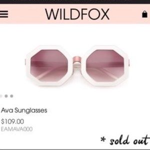 Wildfox😎Ava sunnies!